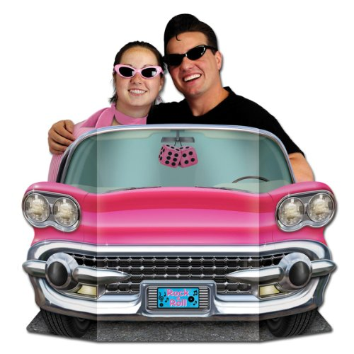 Price comparison product image Pink Convertible Photo Prop Party Accessory (1 count) (1/Pkg)