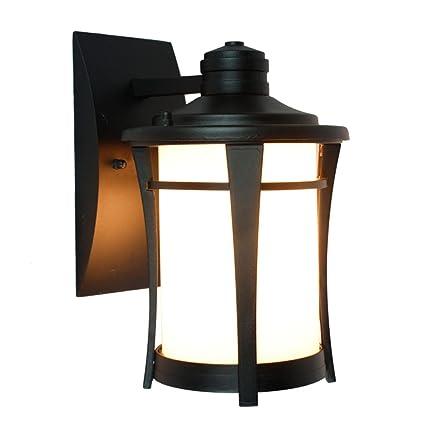 Amazon.com: Retro Led Outdoor Aluminum Wall Light Fixtures ...