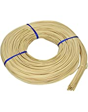 Commonwealth Basket Round Reed #3 2-1/4mm 1-Pound Coil, Approximately 750-Feet