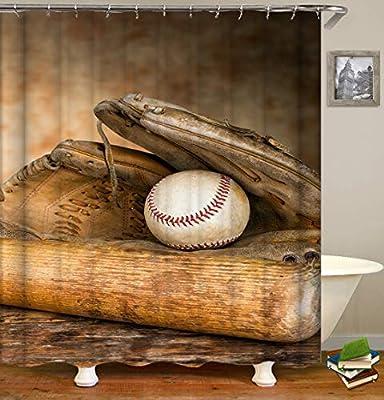 ajhgfjgdhkmdg Guante de béisbol Bate de béisbol y Pelota de ...