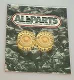 Allparts PK-0130-028 Cream Speed Knobs
