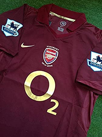 new style c13fa c4a52 Arsenal Maglia Away 2005 2006 Special Highbury Jersey Away ...