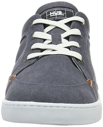 C06 Navy Bleu Sneakers Hub Basses Salvador Homme 5gYwYPfx