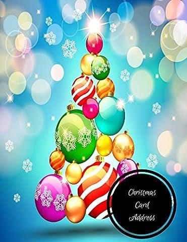 Christmas Card Address: Christmas Card Log - Christmas Card Address Book
