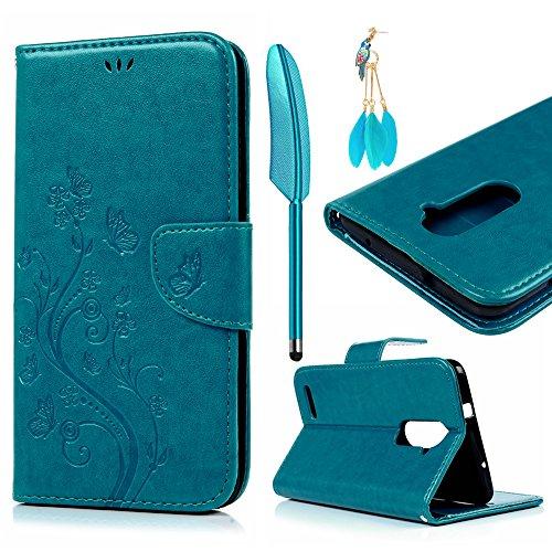 ZTE ZMAX Pro Case, ZTE Carry Z981 Case, Wallet Case Shockpro