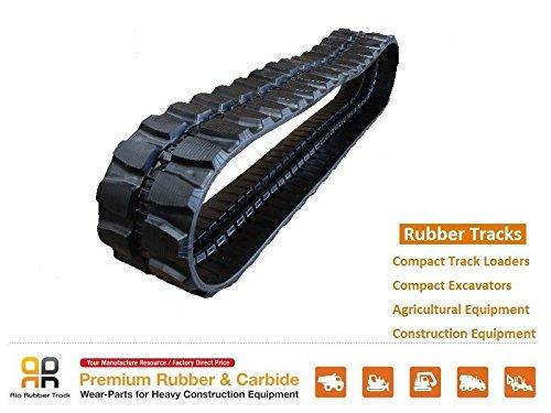 Rio Rubber Track 400x72.5x72, Hitachi EX50URG 55 55UR 55UR-2 HX99B 140B Sh40-2 from Rio Rubber Track