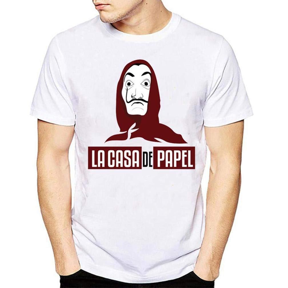 La Casa De Papel S Printing S Funny Short Sleeves Shirts
