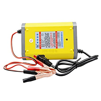 FidgetGear LED 12V 6A 2A Car Motorcycle Smart Automatic Battery Charger Maintainer Trickle