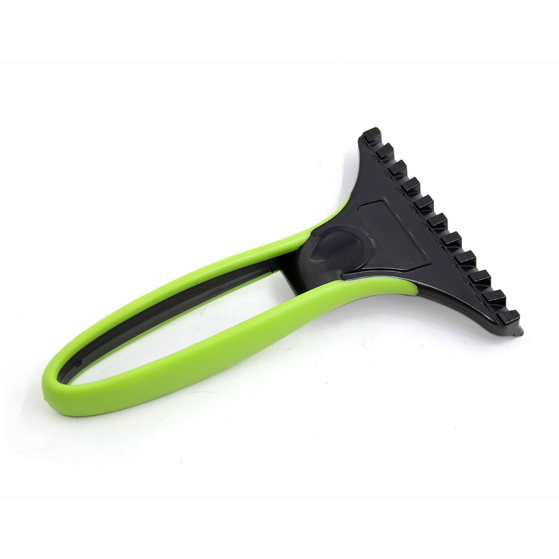 uxcell Green Black Portable Car Windshield Ice Snow Scraper Removal Cleaning Tool a17031000ux1691