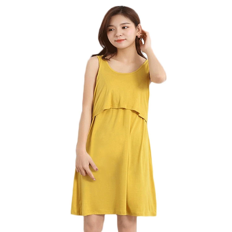 Qlan Frauen Oansatz Sleeveless Stillen Kleider Mutterschaft Kleidung ...