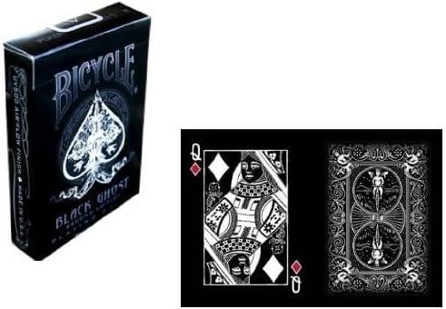 Ellusionist Carte Bicycle Black Ghost by: Amazon.es: Juguetes y juegos