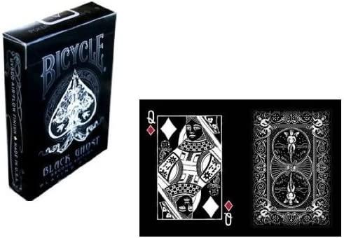 Carte Bicycle Black Ghost by Ellusionist