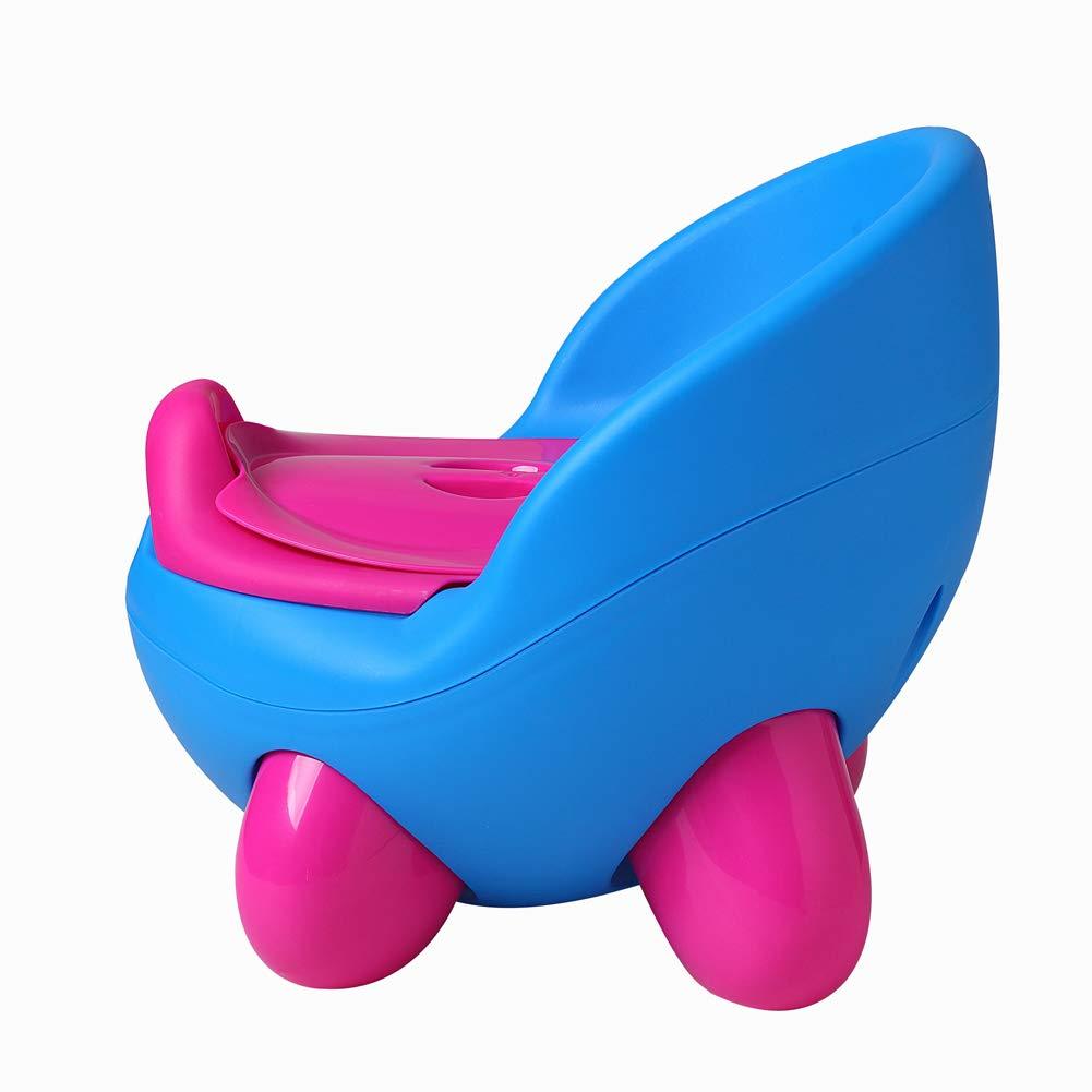 DoubleBlack Pot B/éb/é Toilette Si/ège de Toilettes Trainer WC Enfants Bebe avec Couvercle Gar/çon et Fille