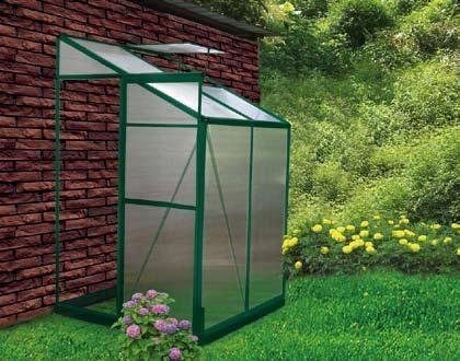 4 x 4 Lean to Greenhouse