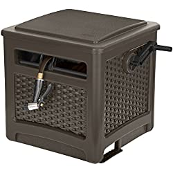 Suncast CPLSMT200WDJ Wicker Smart Trak, Java