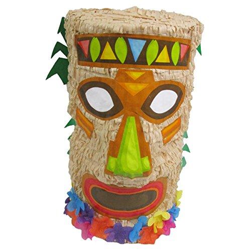 Pinatas for Hawaiian Luau Party, Game, Decoration and Photo Prop, Tiki -