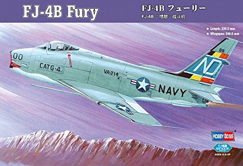 Hobby Boss FJ-4B Fury Jet Fighter Airplane Model Building Kit