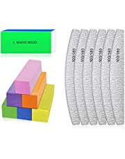 Nagelvijlen en buffers - Professionele nagelvijlen Blok voor het polijsten van nagels, Manicure-instrumenten voor nail art Gel Suit voor thuis en in salons