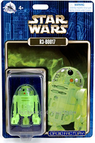 Disney Parks Star Wars 2017 R3-B0017 R3-BOO17 Halloween Glow Droid Factory -