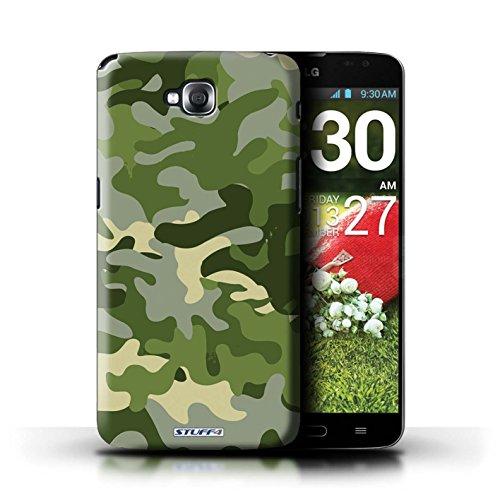 Coque de Stuff4 / Coque pour LG G Pro Lite/D680 / Vert 1 Design / Armée/Camouflage Collection