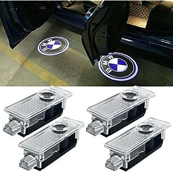 Amazon.com: Faro proyector para puerta de coche con logotipo ...
