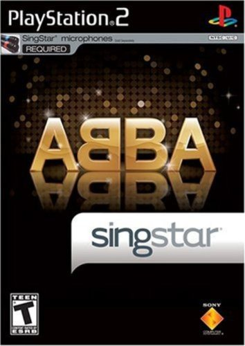 SingStar ABBA (Stand Alone) - PlayStation 2 (Ps2 Singstar Mic)