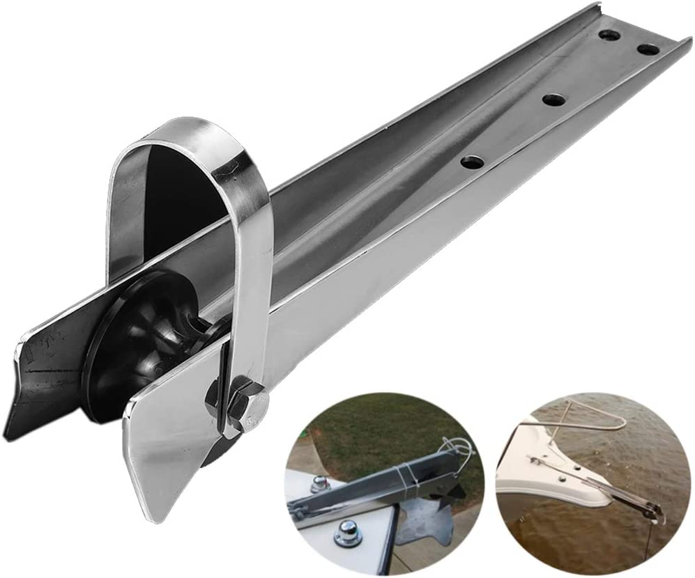 Bow Anchor Roller Stainless Steel Self Launching Heavy Duty Marine Hardware
