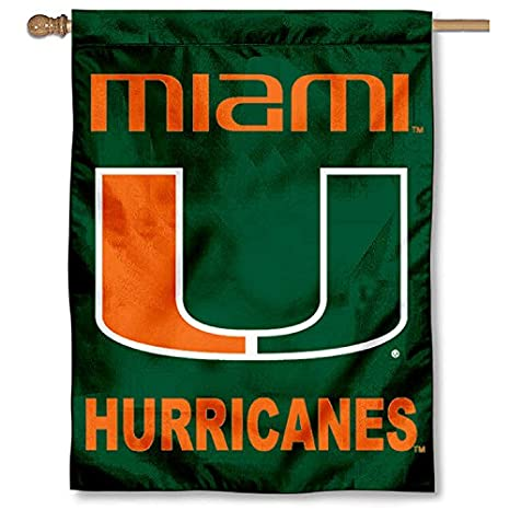 e4a6fc2d0a Amazon.com   College Flags and Banners Co. University of Miami ...