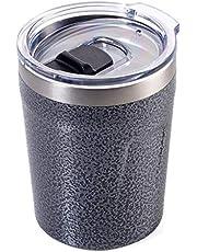 Troika Unisex - volwassenen espresso Doppio thermosbeker, titan, 90 x 70 x 70 mm