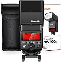 Neewer 2.4G HSS 1/8000s TTL GN36 Wireless Master Slave Flash Speedlite for Sony A7 A7R A7S A7II A7RII A7SII A6000 A6300 A6500 A77II A58 A99 RX10 Cameras with Hard Diffuser (NW400S)