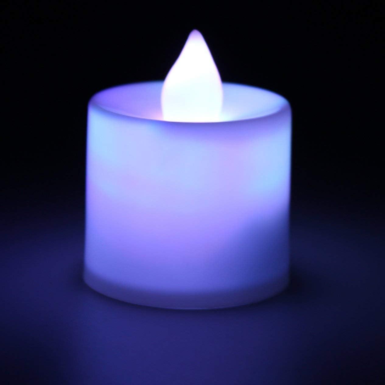 Sette colori) Superior Romance LED Flash Flameless Candle Light Lamp per cena di compleanno Spa Party Pub Decorazione della stanza BCVBFGCXVB