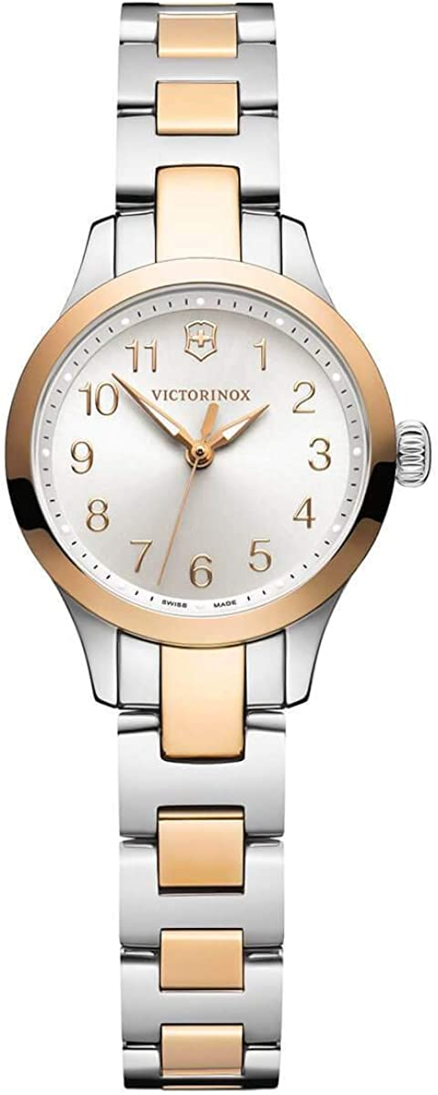 Victorinox Alliance XS Two-Tone, Silver dial, Stainless Steel Bracelet
