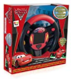 IMC 250345 Cars - Videojuego infantil en forma de volante (con sensor de movimiento)