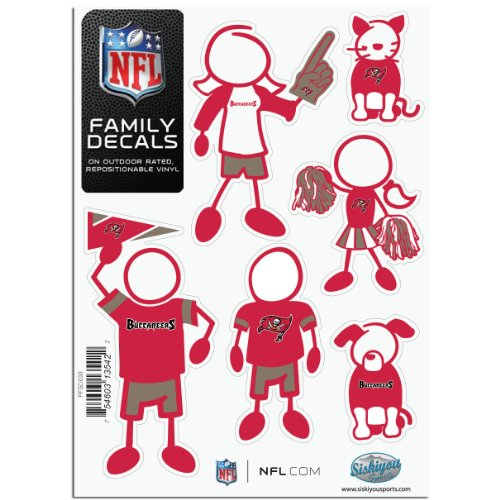 Buccaneers Family Decal - 4