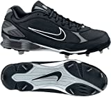 317029 Shox Fuse Metal Adult Baseball Cleat Low - Black - 10