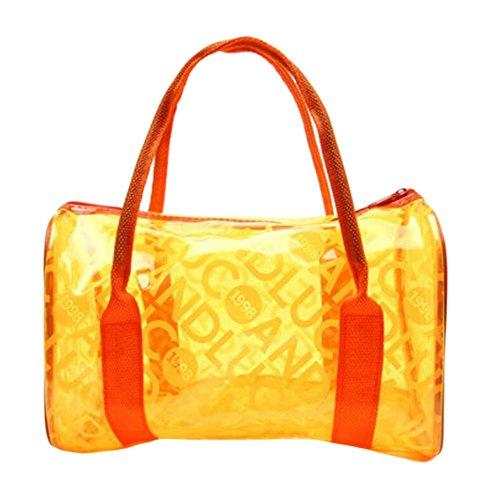 George Jimmy Swimwear Waterproof Backpack Swimming Orange Bag Storage Package by George Jimmy