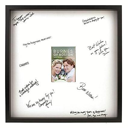 Amazon.com - Burnes of Boston Black Frame with a Signature Mat, 20 ...