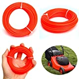 ERTIANANG Nylon String Trimmer Rope Line .095 for Petrol Strimmers Machine Grass Trimmer Line for Brush Cutter 2.4mmx10m Mayitr