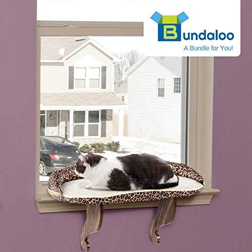 Bundaloo Cat Window Perch Easy Set Up Diy Kitty Sill