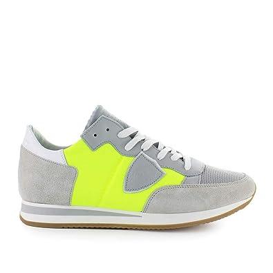 doux et léger plutôt cool nuances de Philippe Model Chaussures Homme Baskets Tropez Mondial Jaune ...