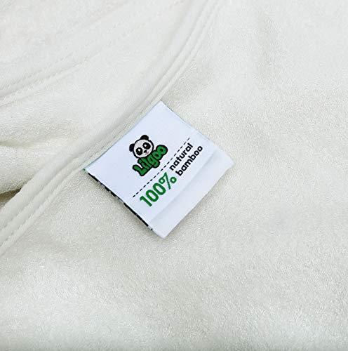 Baby Towel with Hood - 100% Organic Bamboo Hooded Panda Towel - Lilgoo by LilGoo (Image #5)