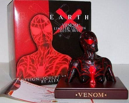 Earth X Venom Limited Edition Resin Bust by Dynamic Force