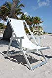 Nanni Italian Outdoor Sling Chair With Armrests