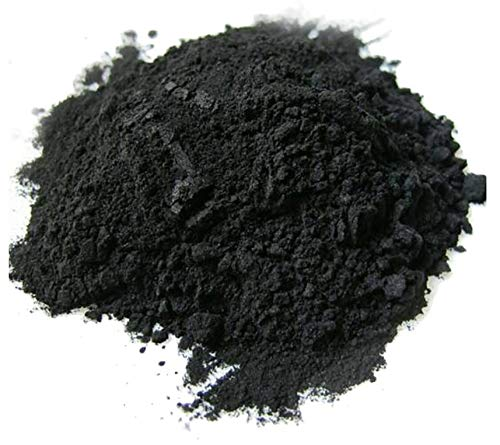 Activated Charcoal powder - 25/50 gr - usage in masks, body wraps, exfoliating formulations, coloring agent for soaps, makeup formulations as mascara, eye-shadow, eye-liner (25 Gr)