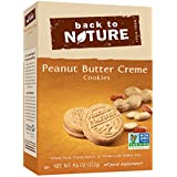 Back to Nature, Peanut Butter Creme Cookies, 9.6 oz