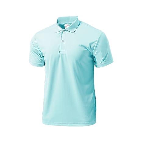 Wundou Hombres de Deporte Dry luz Polo-Shirts P335? M? Saxe Azul ...
