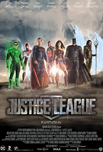 Justice League Movie Teaser 24x36 Poster