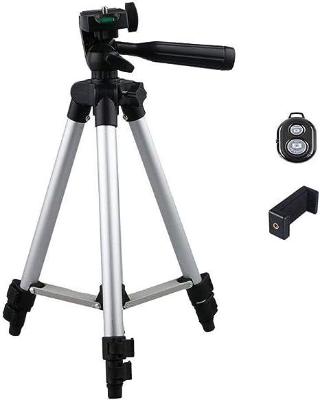 Trípode de cámara ANSCIO trípode cámara soporte de 32,5 pulgadas ...