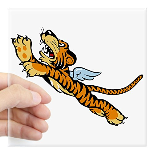 CafePress The Flying Tigers Square Sticker 3