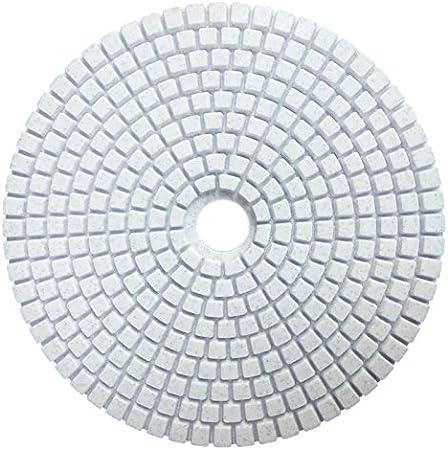 R TOOGOO 5 inch 125mm Wet Diamond Polishing Pads Marble Granite Grits 30